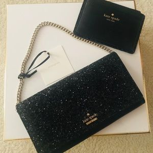 Kate Space Clutch and Cardholder